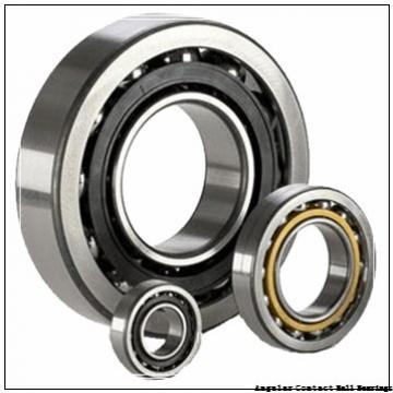 1.181 Inch | 30 Millimeter x 2.835 Inch | 72 Millimeter x 1.189 Inch | 30.2 Millimeter  GENERAL BEARING 55606  Angular Contact Ball Bearings