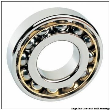 0.591 Inch | 15 Millimeter x 1.378 Inch | 35 Millimeter x 0.626 Inch | 15.9 Millimeter  GENERAL BEARING 5202  Angular Contact Ball Bearings