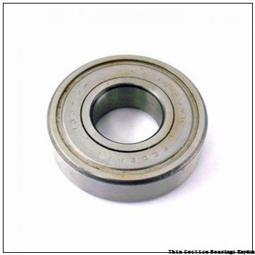 6 mm x 10 mm x 3 mm  SKF W 627/6-2Z  Single Row Ball Bearings