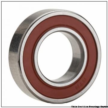 6 mm x 15 mm x 5 mm  SKF W 619/6-2Z  Single Row Ball Bearings