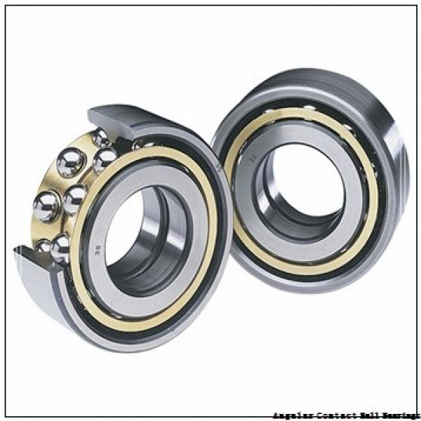 1.575 Inch | 40 Millimeter x 3.15 Inch | 80 Millimeter x 1.189 Inch | 30.2 Millimeter  CONSOLIDATED BEARING 5208-2RS C/3  Angular Contact Ball Bearings #2 image