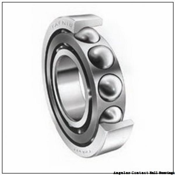 1.575 Inch | 40 Millimeter x 3.15 Inch | 80 Millimeter x 1.189 Inch | 30.2 Millimeter  CONSOLIDATED BEARING 5208-2RS C/3  Angular Contact Ball Bearings #1 image