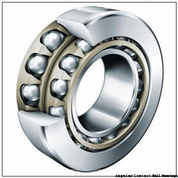1.575 Inch | 40 Millimeter x 3.15 Inch | 80 Millimeter x 1.189 Inch | 30.2 Millimeter  CONSOLIDATED BEARING 5208-2RS  Angular Contact Ball Bearings #1 image